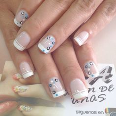 70 Trendy Spring Nail Designs are so perfect for this season Hope they can inspire you and read the article to get the gallery. Square Nail Designs, Gel Nail Designs, Hot Nails, Hair And Nails, Nail Art For Beginners, Nail Designs Spring, French Tip Nails, Square Nails, Creative Nails