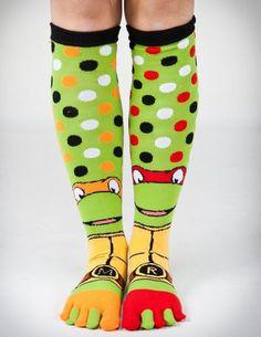 Teenage Mutant Ninja Turtles Socks