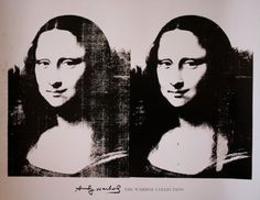 Double Mona by Andy Warhol