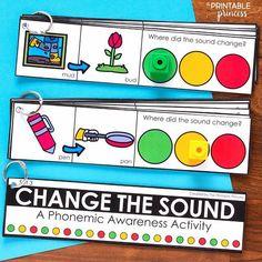 Beginning Sounds Activities, Games, and Centers for Kindergarten   Phonemic awareness activities, Ph