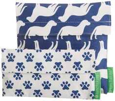 Lunchskins2 Multi-Pack Reusable Sandwich and Snack Bag, Navy Dog/Paw, Set of 2 LunchSkins,http://www.amazon.com/dp/B00F4AXW1U/ref=cm_sw_r_pi_dp_Jux5sb10MTZF5DGA