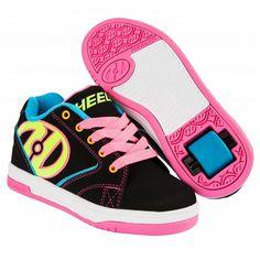 Heely's Propel 2.0 Roller Shoe (Black/Multi)