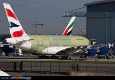 G-XLEA the first Airbus A380 for British Airways