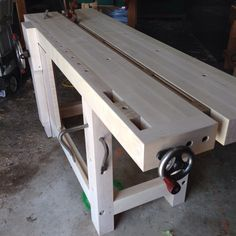 My new Split Top Roubo Bench and A Surprise from BenchCrafted! Woodworking Table Plans, Woodworking Projects, Workshop Bench, Woodworking Organization, Diy Workbench, Wood Tools, Diy Wood Projects, Joinery, Workbenches