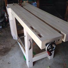Split Top Roubo Bench