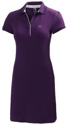 Helly Hansen W Polo Breeze -mekko €) Helly Hansen, Breeze, Polo, Athletic, Zip, Purple, Jackets, Dresses, Fashion