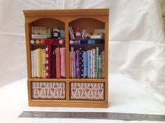 DOLLS HOUSE MINIATURES  Haberdashery Sewing от LittleHouseAtPriory