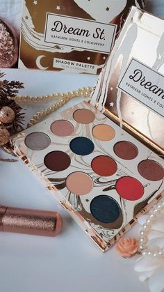Kathleenlights and Colorupop eyeshadow palette is an attractive neutral warm toned palette with some pop of colors. #motd #makeup #makeupartist #eyeshadow #eyes #BumpsUnderEyes Affordable Eyeshadow Palettes, Sparkly Eyeshadow, Makeup Palette, Drugstore Eyeshadow Palette, Eyeshadow Tips, Eyeshadow Makeup, Colourpop Palette, Eyeshadows, Make Up Kits
