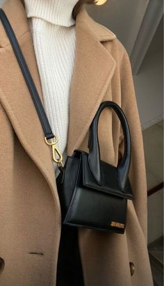Winter Fashion Outfits, Look Fashion, Fashion Bags, Korean Fashion, Fall Outfits, Autumn Fashion, Womens Fashion, Classy Aesthetic, Beige Aesthetic