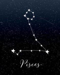 Pisces Horoscope for December 2019 – Constellation Tattoo Pisces Horoscope Today, Astrology Pisces, April Horoscope, Capricorn Facts, Astrology Zodiac, Astrology Signs, Zodiac Art, Zodiac Signs, Pisces Constellation Tattoo