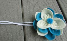 Girl Headband, Baby Headband, Headband for Newborn, Elastic Headband, Lotus Flower, Photo Shoot Prop by OurKraftyCreations on Etsy