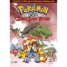 Pokemon Diamond and Pearl: Sinnoh League Victors DVD Set 3 (D) Film Pokemon, Pokemon Movies, Pokemon Gif, Papercraft Pokemon, Nintendo, Cute Pokemon Wallpaper, Viz Media, Pokemon Birthday, Dvd Set