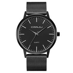 CRRJU 2117 Luxury Men Quartz Watch Fashion Ultra Thin Waterproof Wristwatch //SALEPRICE% & FREE Shipping //