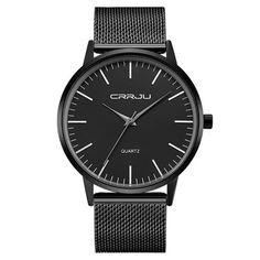 CRRJU 2117 Luxury Men Quartz Watch Fashion Ultra Thin Waterproof Wristwatch //SALEPRICE% & FREE Shipping //