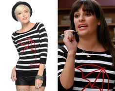 Forever 21 Umbrella Stripe Sweater - No longer available Worn with: Ryan Ryan necklace