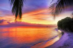 A great Barbados sunset