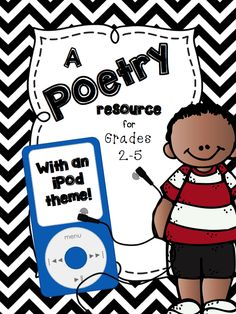 FREE this is a BIG FREEBIE for teaching Poetry!! iPod themed