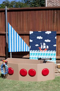 Boy's Nautical 1st Birthday Party