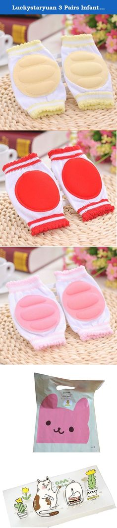 Luckystaryuan 3 Pairs Infant Baby Knee Pad Girls Crawling Protector. Specifications: Material: 80% cotton, 20% Elastic fibers. Suitable for the baby from 0- 1years, and note according to investigation, not suitable for chubby darling in case too tight harm the darling leg. High quality, comfortable to wear, with it,mom and daddy not worry when the baby learn to crawl. Usually send the items as picture also maybe send random color. Perfect gift for children, not only protect the baby from...