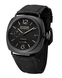Of all the watches that I see pinned, this is the first one that I absolutely love.  Aim to buy in 3 years. Times Square, Panerai Radiomir 8 Days  Ceramic, 45 mm.