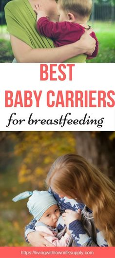Looking for the best baby carrier for breastfeeding? Find out my top 5 picks, including the detailed pros and cons #breastfeedingtipsformoms via @fiftarina