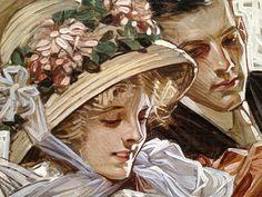Risultati immagini per leyendecker American Illustration, Illustration Art, Illustrations, Jc Leyendecker, Classical Art, Old Art, Pretty Art, Beautiful Paintings, Art History
