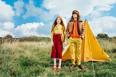 'Free The Birds, by photographer Leonie Freeman and stylist Amelia Staples tells the story of two teenage nature loving eco warriors wanting to 'Free...
