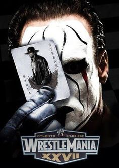 Awesome fake poster for WrestleMania 27. Every serious wrestling fan would love to see Sting come to WWE to try and end the streak, while both he and Taker are still (relatively) healthy enough to make it a match worth watching.