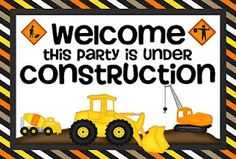 this party is under construction