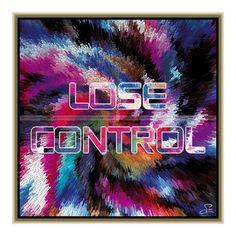 Lose control (50 X 50 cm) – Grooss Artwork