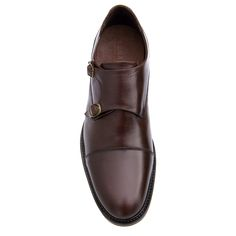 Elevator Double Monk Strap Shoes : Taormina. Upper in full grain leather, Leather heel with special anti-slip rubber, full soft leather lining. Hand Made in Italy by www.Guidomaggi.com/us
