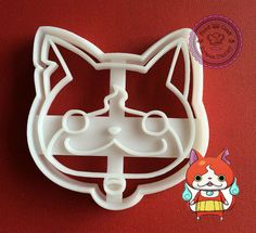 Youkai Watch cookie cutter 3D cookie cutter yokai by ArtSeaFartsy