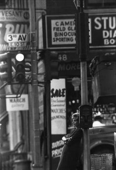 New York in the 50, by Saul Leiter
