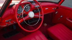1955 Mercedes-Benz 190SL Roadster 1.9L, 4-Speed