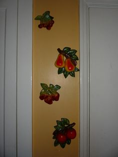 Vintage Chalkware We had these in our kitchen growing up. Even on the yellow wall