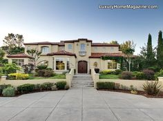 luxury homes | Luxury Home Magazine of Sacramento presents French wine country living ...