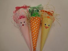 Easter cones craft (instructions included )