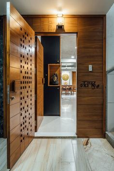The True Story About Main Entrance Door Design Ideas That the Experts - nyamanhome Door Design Interior, Foyer Design, Main Door Design, Wooden Doors, Interior Barn Doors, Doors Interior, Entrance Decor, House Entrance Doors, Front Door Design