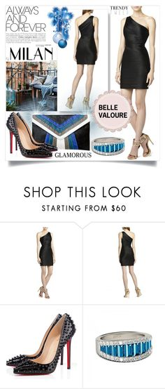 """""""Belle Valoure"""" by smasy ❤ liked on Polyvore featuring BCBGMAXAZRIA, women's clothing, women, female, woman, misses and juniors"""