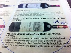 Château Bellevue Gazin Blaye Côtes de Bordeaux featured in the Examiner last week. Amazing stuff, but unfortunately out-of-stock at present :( Blackberry, Wines, Plates, Amazing, Licence Plates, Dishes, Griddles, Blackberries, Dish
