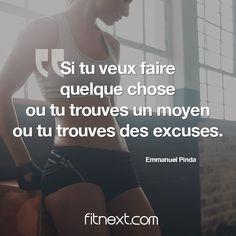 Quand on est vraiment motivé, il n'y a pas d'excuse qui tienne ;) #fitnext #motivation