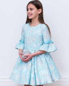 Weekend Wishlist: Blue and Silver Opera Gown 💙✨ Your girl will be a vision of enchantment this autumn in pearl blue...👗 @DavidCharlesCW  #DressoftheDay #LuxeGifts #DressesGirlsLove #PearlBlue #OnTrendTeens #JuniorPartyGowns