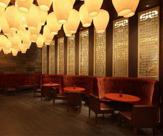 Mandarin Oriental Shanghai Restaurants by dash design (US)