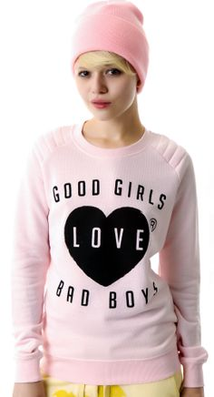 Zoe Karssen Good Girls Love Bad Boys Sweater | Dolls Kill