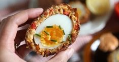 I posted a delicious scotch egg recipe this time last year that used ground chicken instead of sausage so in the spirit of changing thi...
