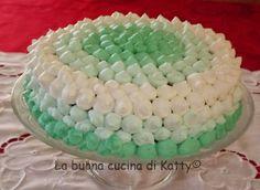 La buona cucina di Katty: Torta con frosting a gradazione verde - Green Cake