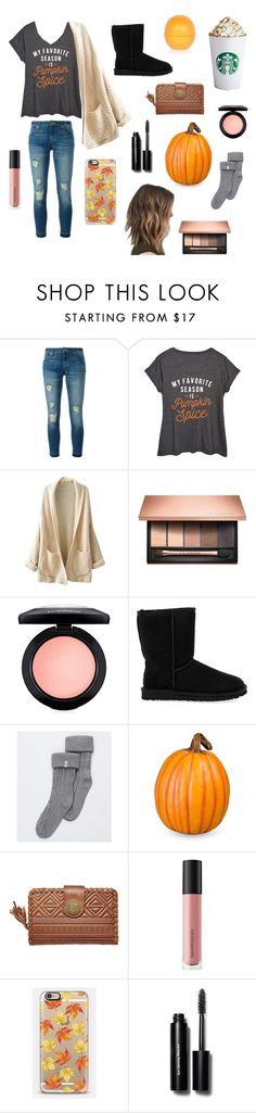 """""""Fall!!"""" by skbuchan ❤ liked on Polyvore featuring MICHAEL Michael Kors, LC Trendz, Clarins, MAC Cosmetics, UGG Australia, UGG, Improvements, Billabong, Bare Escentuals and Casetify"""