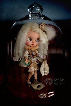 Bell of silence by Rebeca Cano ~ Cookie dolls, www.cookie-dolls.com