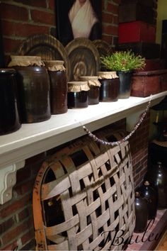 I want one of those tobacco baskets for my fireplace!