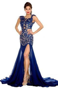 2015 prom dress blue prom dresses